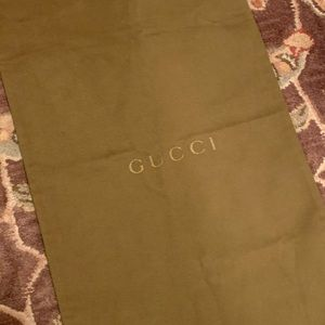 Gucci Dust Bag - Authentic